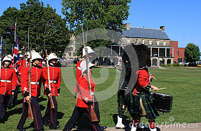 Changing of the Guard Ceremony Editorial Stock Image