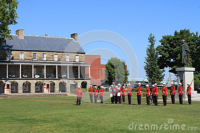 Changing of the Guard Ceremony Editorial Stock Photo