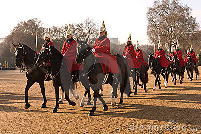Changing the Guard, Horse Guards Parade. Editorial Stock Image