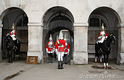 Changing of the Guard London Editorial Stock Photo