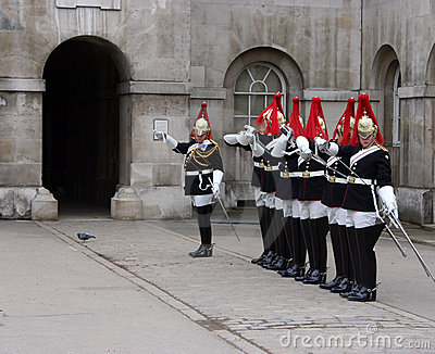 Changing of the Guard London Editorial Photo