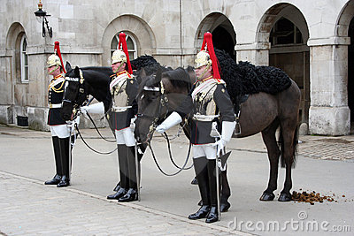 Changing of the Guard London Editorial Photography