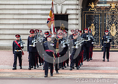 Changing the Guard London Editorial Photography