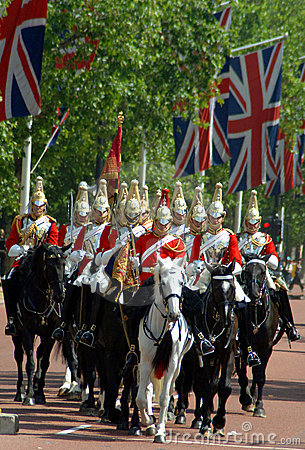 Changing of the guard, London Editorial Stock Image