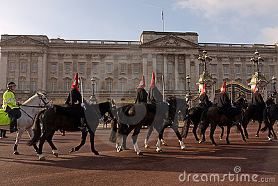 Changing the Guard, Royal Horse Guards. Editorial Image