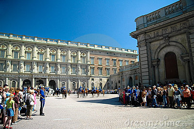 Changing of the guard, Sweden Editorial Image