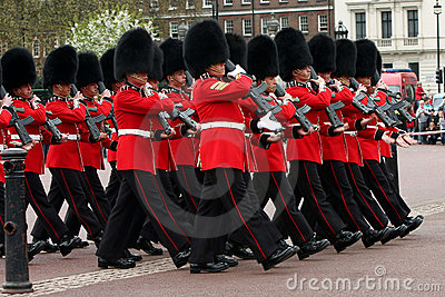 Changing of the Guards ceremony. Editorial Photography