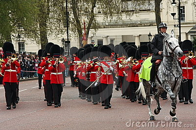 Changing of the Guards ceremony. Editorial Stock Photo