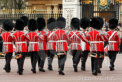 Changing of the Guards ceremony. Editorial Photo
