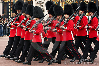 Changing of the Guards ceremony. Editorial Stock Image