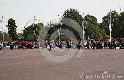 Changing of the Guards ceremony Editorial Stock Image