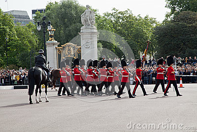 Changing of the Guards ceremony Editorial Image