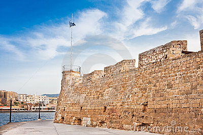 Chania Fortress and harbour