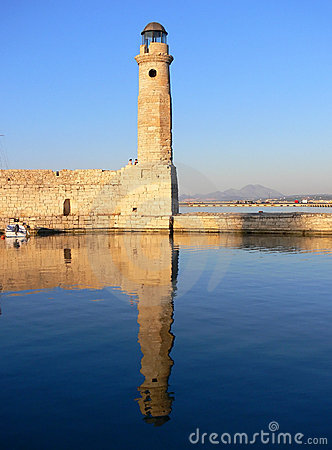 Chania Harbour Pier in Greece