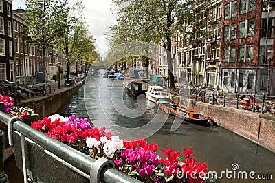 Channel in Ansterdam