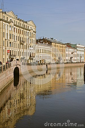 Channel at St Petersburg