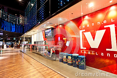 Channel V thailand Editorial Image