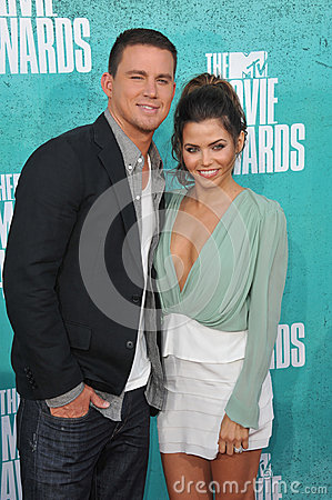 Channing Tatum & Jenna Dewan-Tatum Editorial Photography