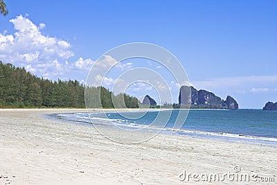 Chao Mai beach, Trang province, Thailand.