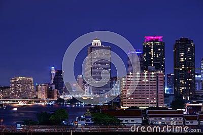 Chao Phraya River Editorial Image