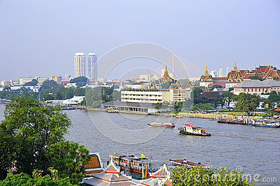 The Chao Praya River in Bangkok