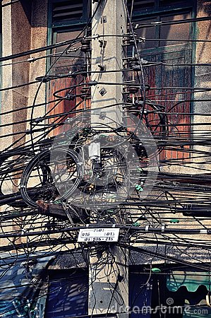Chaotic electric power transmission