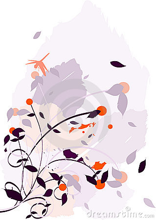 Chaotic Flower Illustration