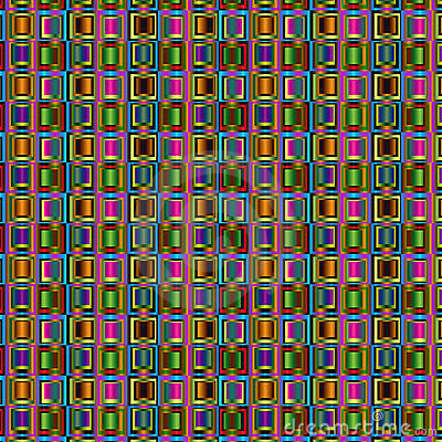Chaotic squares