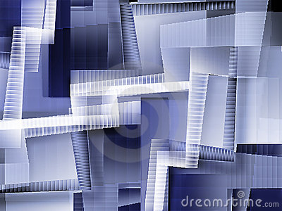 Chaotic staircases