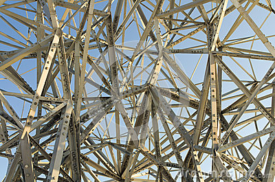Chaotic steel structure or art?