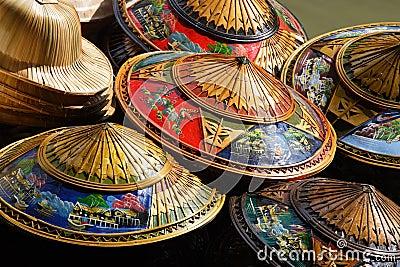 Chapéus de Tailândia