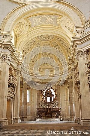 Chapel altar, Venaria Reale