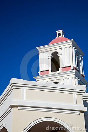 Chapel on blue sky