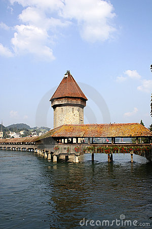Chapel-Bridge in Lucerne