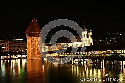 Chapel-Bridge in Lucerne