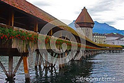 Chapel Bridge of Luzern
