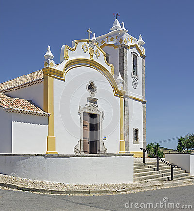 The chapel of Budens in South Portugal