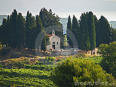 Chapel and cemetery