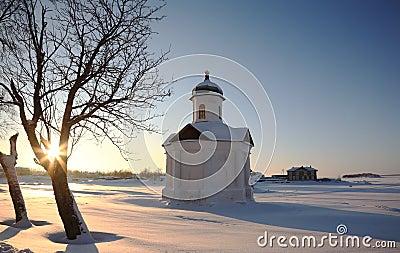 Chapel on a decline