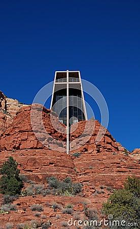 The Chapel of the Holy Cross near Sedona, Arizona