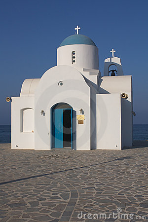 Free Chapel In Cyprus Royalty Free Stock Image - 6215106