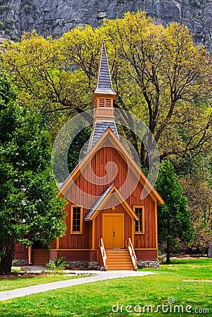 Free Chapel In Yosemite Stock Photo - 5164960