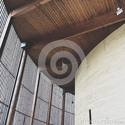 Free Chapel Of Reconciliation, Berlin Wall Memorial Park, Berlin, Germany Stock Image - 45437741