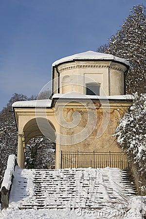 Chapel of sacro monte, varese