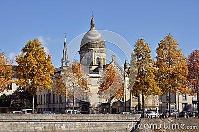 Chapel Saint-Julien at Laval in France