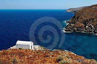 Chapel on Sifnos island