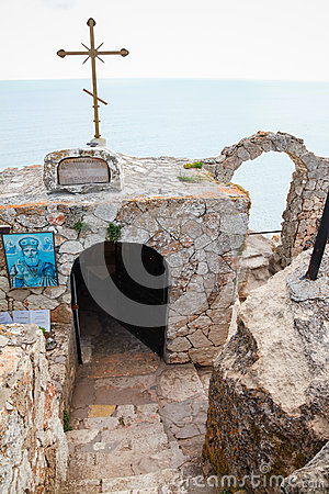 Free Chapel Sveti Nikola At The Cape Tip. Kaliakra Stock Photo - 69032140