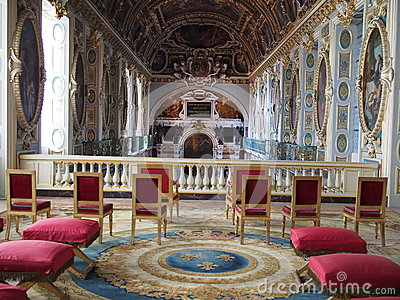 Chapel of the Trinity, Fontainebleau Editorial Photo