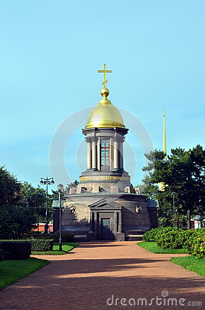 Chapel of the Trinity, St  Petersburg Editorial Image