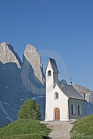 Chapel on Val Gardena